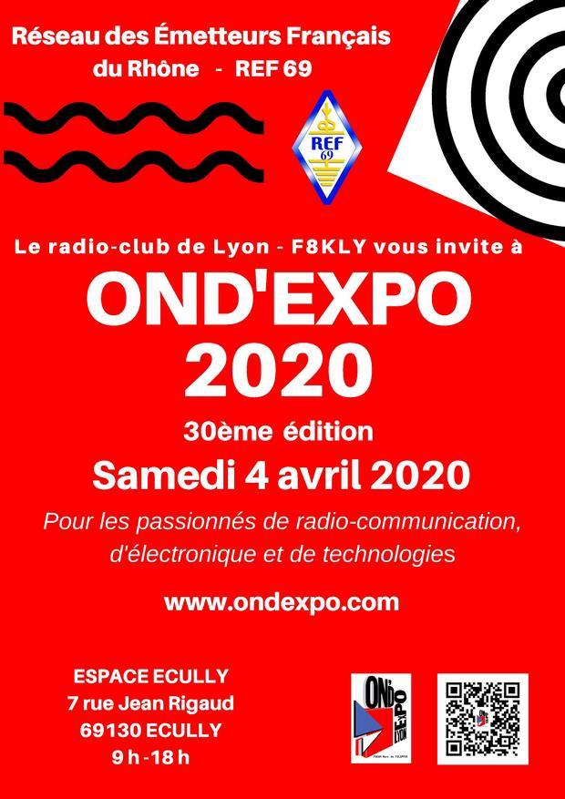 Affiche OndExpo 2020