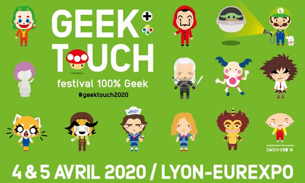 Affiche Geek Touch 2020